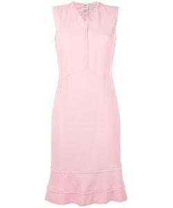 Altuzarra | Peplum Hem Dress 38 Polyester/Viscose/Spandex/Elastane