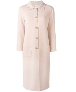 Agnona | Classic Buttoned Coat Size 40