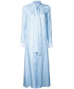 Monse   Tied Neck Striped Shirt 6 Silk
