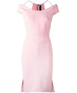 Roland Mouret | Beatrix Dress 10 Spandex/Elastane/Acetate/Viscose