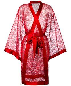 Dolci Follie | Lace Kimono Robe Polyester/Glass