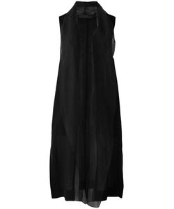 DEMOO PARKCHOONMOO | Sheer Sleeveless Waistcoat 42 Polyester/Acetate