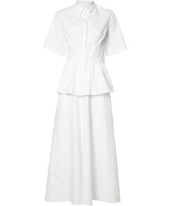 Rosie Assoulin | Front Placket Fla Dress 6 Cotton