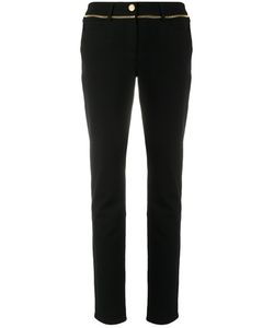 Cavalli Class | High-Waisted Skinny Trousers Women