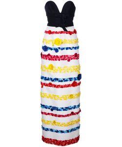 Carolina Herrera | Embroidery Gown Size