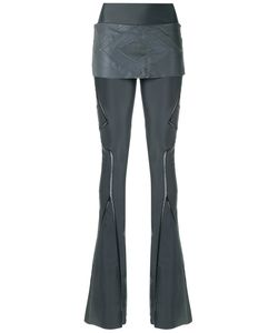 Andrea Bogosian | Flared Panelled Trousers Size G