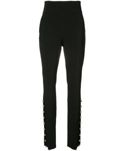 David Koma | High Waist Metal Ball Hem Trousers