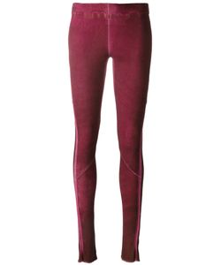 Isaac Sellam Experience | Stitched Panel Leggings Women Lamb