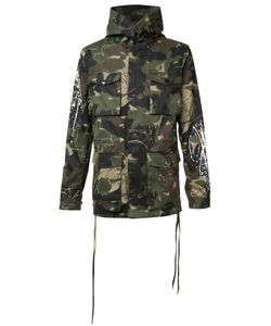 HACULLA | Camouflage Print Coat Medium Cotton