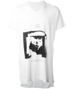 JULIUS | Printed Motif T-Shirt Size 2