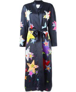 Mira Mikati   Star Print Robe Size 34
