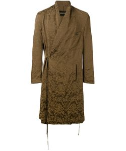 UMA WANG | Abu Long Jacket Small Cupro/Viscose/Virgin Wool