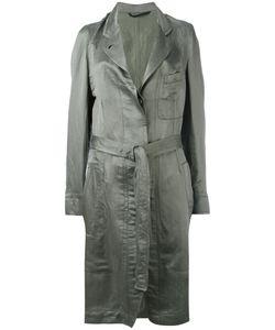 Ann Demeulemeester | Tie-Waist Trench Coat