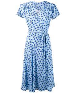 P.A.R.O.S.H. | Star Print Shift Dress Silk/Spandex/Elastane