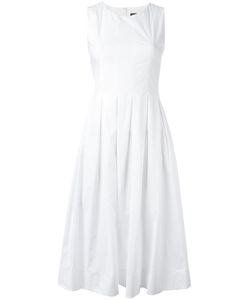 Twin-set | Sleeveless Mid-Length Dress 42 Cotton/Spandex/Elastane