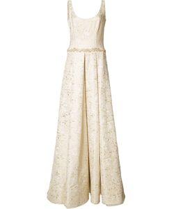 Marchesa Notte | Jacquard Gown 2 Acetate