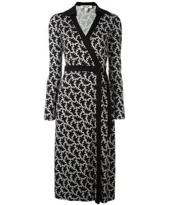 Diane Von Furstenberg | Printed Wrap Dress Size 4