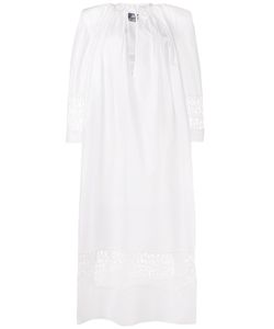 JACQUEMUS | Lace-Detail Maxi Dress 36