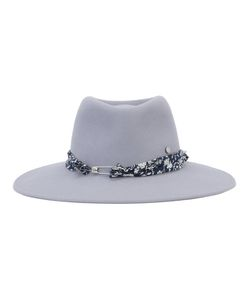 Maison Michel | Pierre Fedora Hat Medium Rabbit Felt
