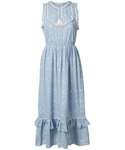 Ulla Johnson | Tassel Detail Midi Dress 2 Cotton