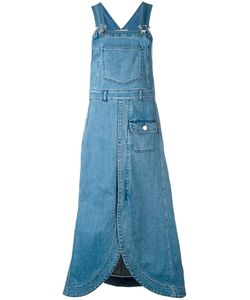 See By Chloe | See By Chloé Denim Pinafore Midi Dress 34