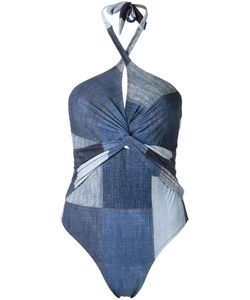 AMIR SLAMA | Panelled Swimsuit P Elastodiene