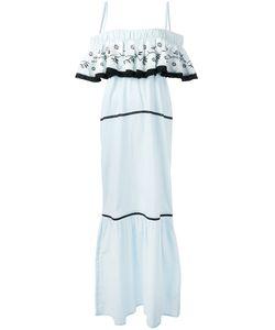 DAFT | Ruffle Maxi Dress Size Xs