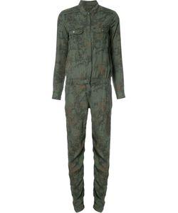 Etienne Marcel | Print Jumpsuit Medium Lyocell/Cotton