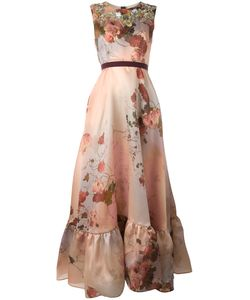 Antonio Marras | Print Gown 42 Silk/Polyester
