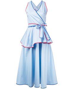 ANNA OCTOBER | Расклешенное Платье С V-Образной Горловиной