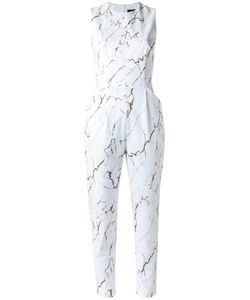 ANDREA MARQUES | All-Over Print Jumpsuit Size 40