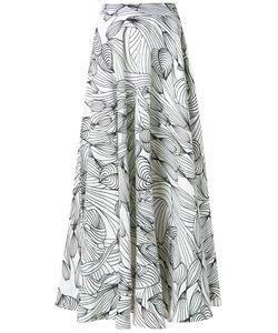 Isolda | Graphic Print Skirt
