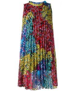 Ultràchic | Pleated Fla Dress 42 Polyester/Acetate/Polybutylene Terephthalate Pbt