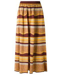 Gig | Knit Midi Skirt P Viscose