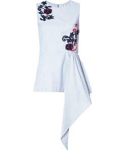 Suno | Embroidery Fla Blouse 6 Cotton