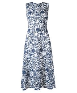MARTHA MEDEIROS | Midi A-Line Alessandra Dress Size 40