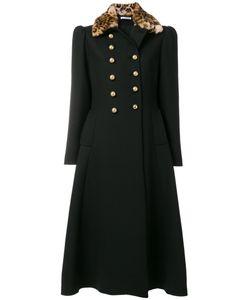 Vivetta | Leopard Print Collar Coat Women
