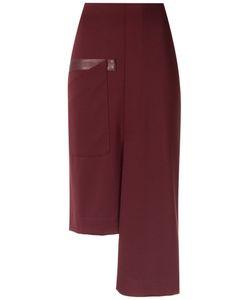 GLORIA COELHO | Asymmetric Skirt Gg