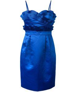 Chanel Vintage | Платье С Гофрированными Элементами
