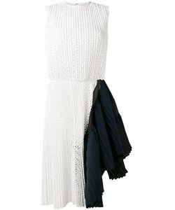Sacai | Asymmetric Dot Lace Dress 4 Cotton/Polyester/Cupro