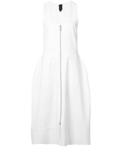 Vera Wang | V-Neck Bell Dress 2 Cotton/Nylon/Wool