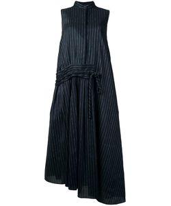 Victoria, Victoria Beckham | Victoria Victoria Beckham Striped Shift Dress 10 Cotton/Linen/Flax/Spandex/Elastane/Cotton