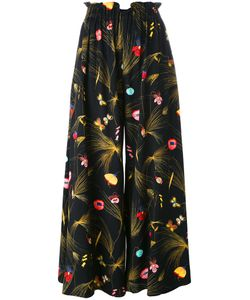Fendi | Print Pleated Trousers 38 Viscose