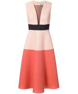 Lela Rose | Платье С Прозрачной Панелью