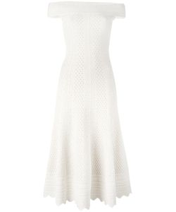 Alexander McQueen | Lace-Embroidered Flared Dress