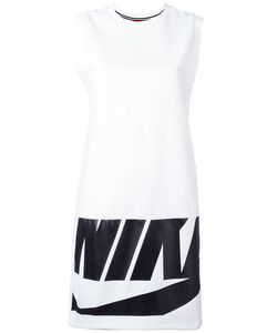 Nike | Logo Print Dress Medium Polyester/Spandex/Elastane