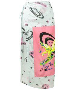 Miu Miu   Club Print Skirt Size 44