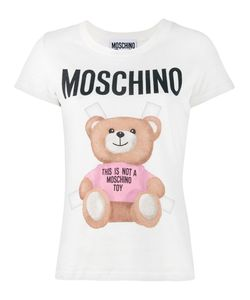 Moschino | Teddy Logo T-Shirt 40 Cotton