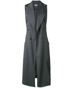 Alberto Biani | Sleeveless Fitted Coat
