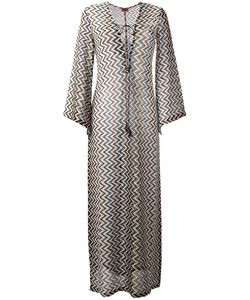 Missoni | Zig Zag Beach Dress 44 Viscose/Cupro/Polyester